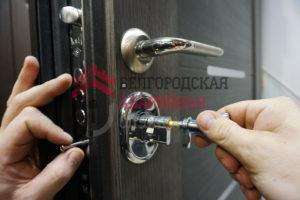 замена-личинки-в-железной двери